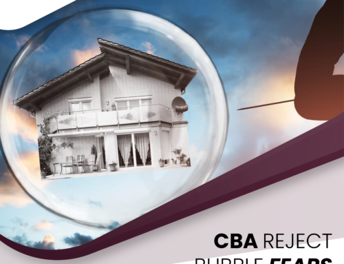CBA Rejects Bubble Fears